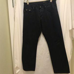 """Men's """"Howe"""" pre-owned like new black pants"""